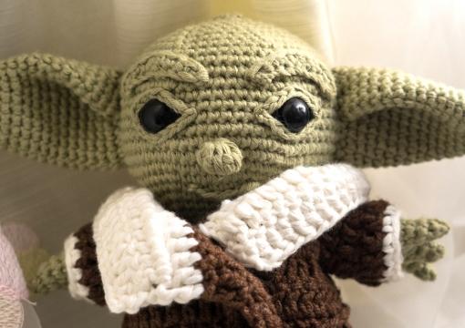 Бебе Йода  |  Baby Yoda - Схема за изплитане