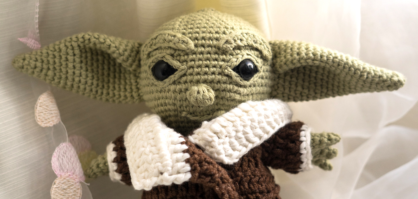 10+ Star Wars Yoda Crochet Patterns | Star wars crochet, Crochet ... | 694x1456