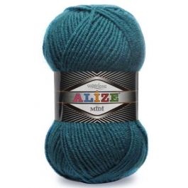 Yarn Alize Superlana Midi mosaic