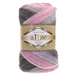 yarn Alize Superlana Midi Batik