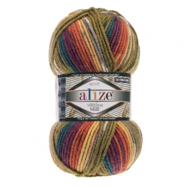 yarn Alize Superlana Midi Motif