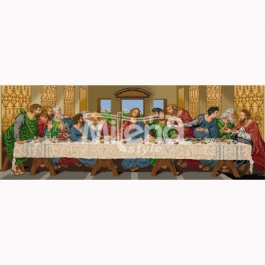 1344801 Printed tapestry canvas with threads