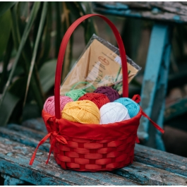 Basket Spring Bouquet