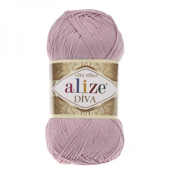 Прежда Ализе Дива silk effect
