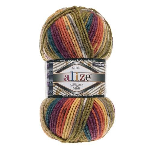 yarn Alize Superlana Midi Motif