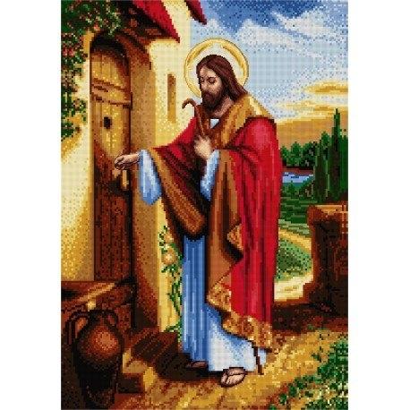 Jesus Knocking on Door