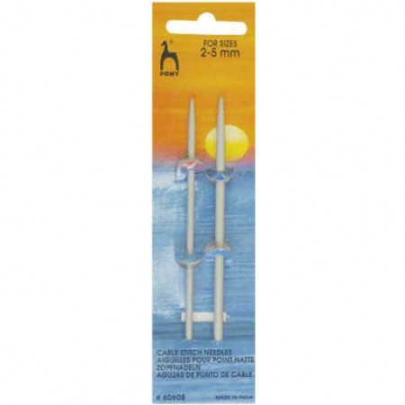 Pony Cable Needles, straight