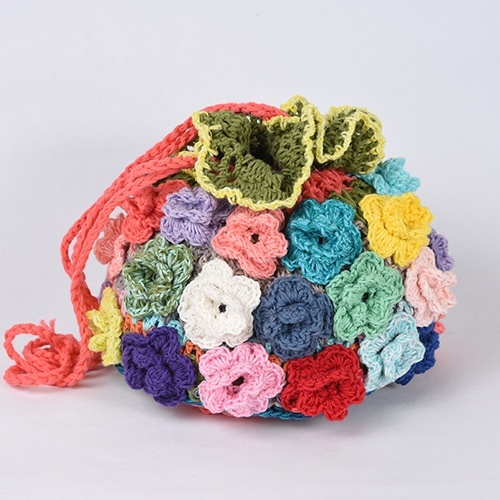 Crochet Drawstring-Bag
