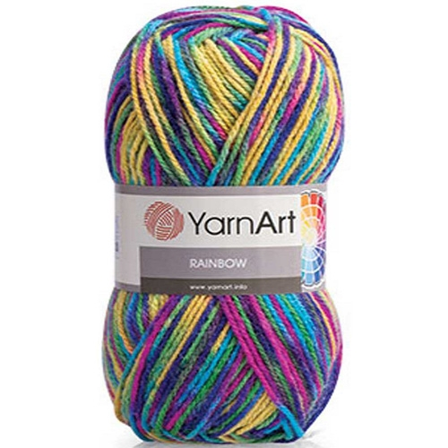 Yarn Art Rainbow