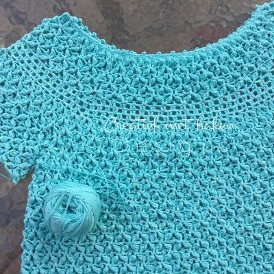 Лятна блуза от прежда Стенли Лотос