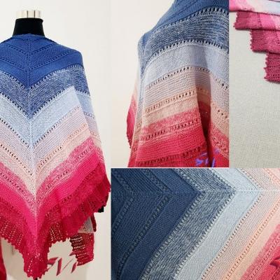 Stenli Merino Cake shawl
