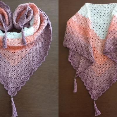 Shawl From Stenli Candy