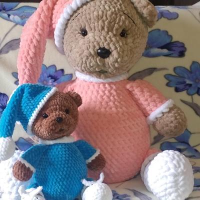 Teddy bear from YarnArt Dolce Maxi