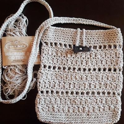 Bag from Stenliyarn Macrame Cotton