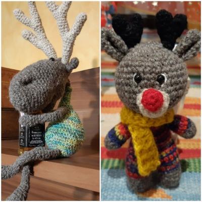 Crochet Deers from Stenli Hortse