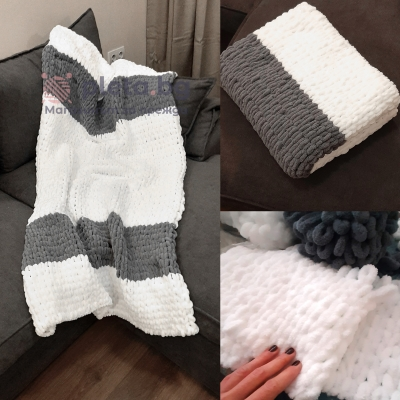 Blanket from Alize Puffy