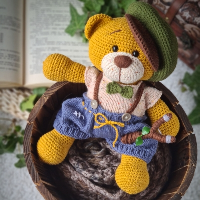 Teddy from YarnArt Jeans