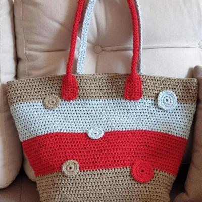 Чанта от Макраме Котон 3мм