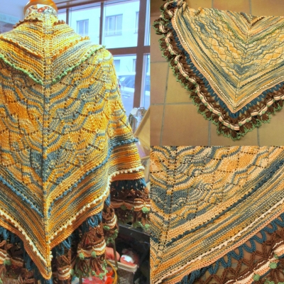 Shawl in Comfort