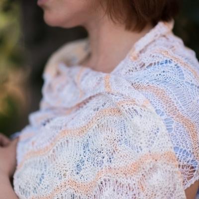 Nirvana shawl
