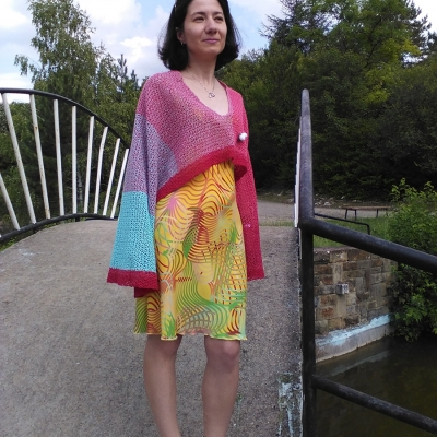 Gown from Stenliyarn Souffle
