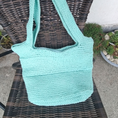 Bag from Stenliyarn Macrame Cotton 3