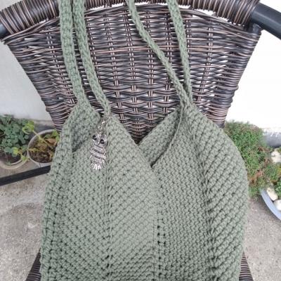 Bag from Stenliyarn Macrame Cotton 4