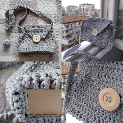 bag from macrame