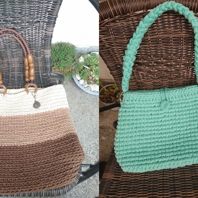 Bags from Macrame Cookie