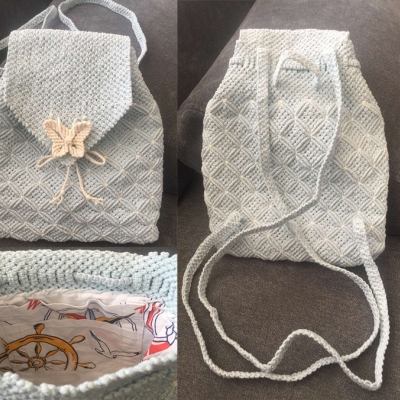 Bag from Stenli Macrame Cotton 3
